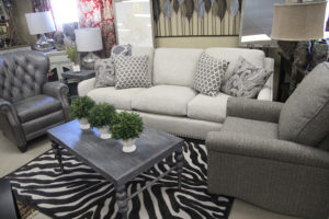 Kimbro's living room furniture